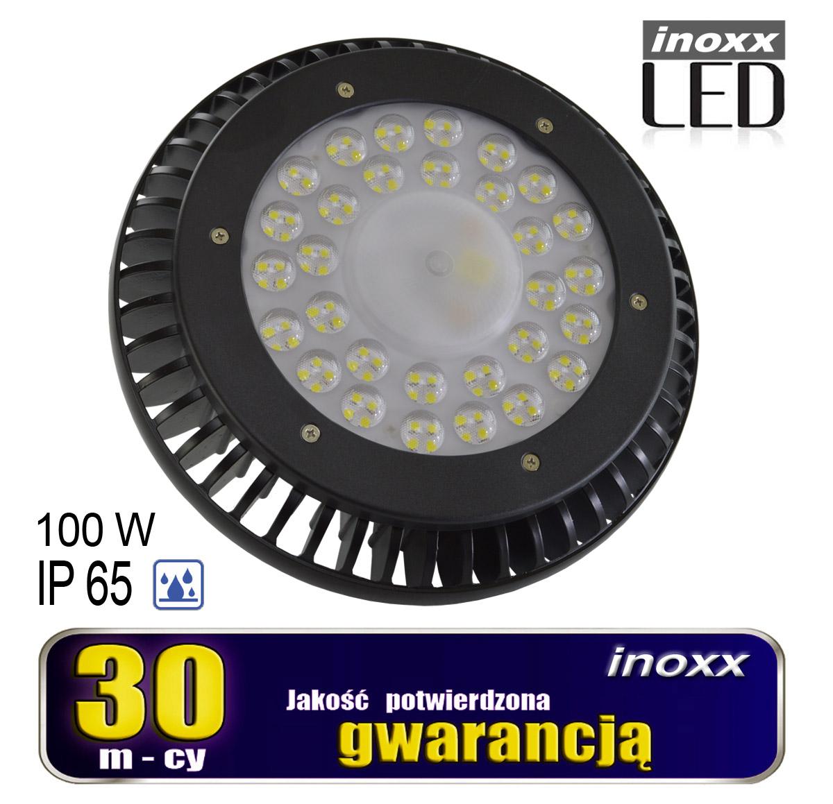 LAMPA PRZEMYSŁOWA LED IP65 100W HIGH BAY UFO 12 000LM