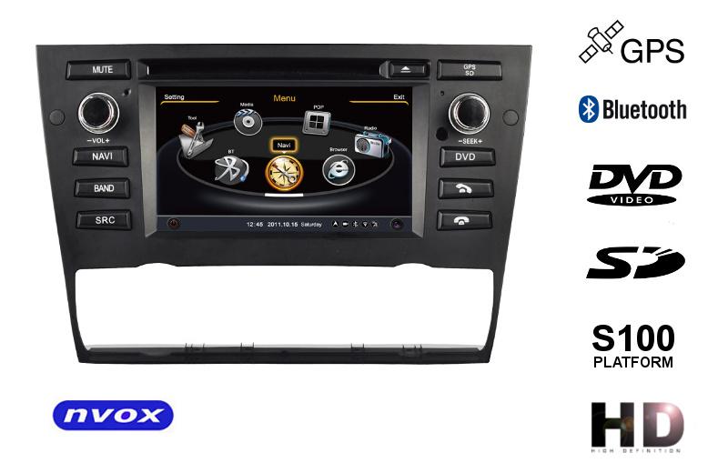 Nvox Jdz6095 E90 Multimedialna Stacja Nawigacja Dedykowana Bmw E90