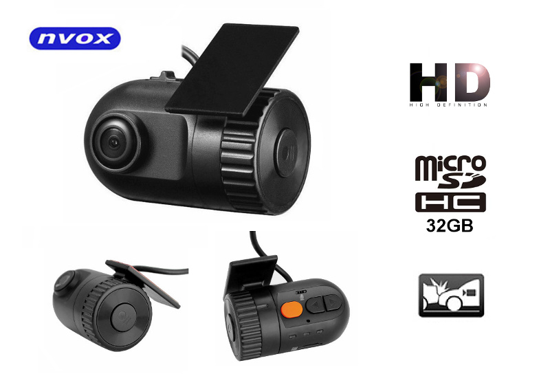 9fe329fba40a32 NVOX DVR300T Samochodowa obrotowa kamera rejestrator trasy DVR HD ...